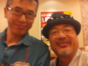 岩手遠野の大泉賢司院長先生と記念撮影しました